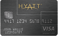 Get 1 free night with the Hyatt Visa