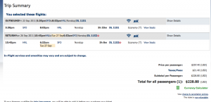 More Cheap Delta Fares to Hawaii- from $220 Roundtrip Total