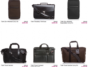 Tumi Sale on Ruelala.com Today