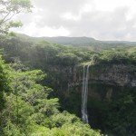 The three-streamed Chamerel Waterfall.
