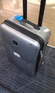 Discounted Tumi Luggage on Ruelala.com