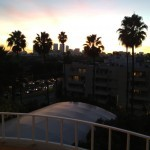 View from my balcony toward Century City.