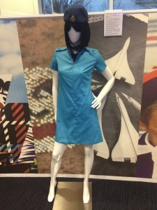 This is what Concorde stewardesses wore back in the day.