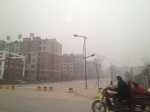 So this is why everyone says it can get so smoggy in China.