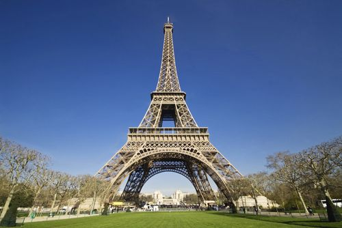 How can you resist the Eiffel Tower?