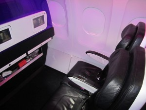 Main Cabin Select is rows 3 and 10, the first row of coach and the exit row.