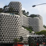 The Intercontinental is part of the Bugis Junction Shopping Centre. Love the groovy architecture.