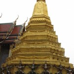 Another gold stupah at the Grand Palace.