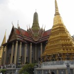 Prasat Phra Dhepbidorn (The Royal Pantheon) building - Grand Palace Bangkok.