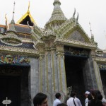 Phra Wiharn Yod Building inside the Grand Palace.