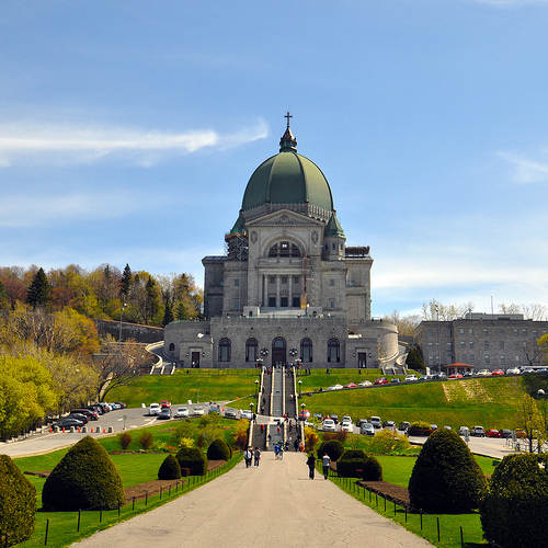 The Oratoire St. Joseph on Mount Royal is one of Montreal's most distinctive landmarks. Photo by amesis.