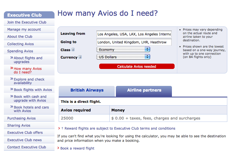 Avios Points - How to Build, Redeem & Use Avios Points