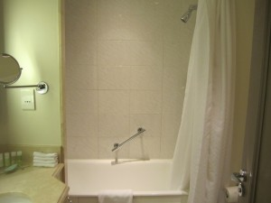 Another shot of the shower-tub combo.