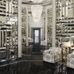 The opulent lobby of the St. Regis Bal Harbour.