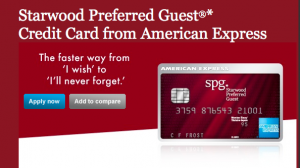 15,000 Starwood Points For Canadian Amex Until November 12, 2012