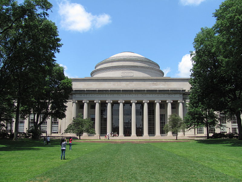 MIT is located just outside of Boston in Cambridge.
