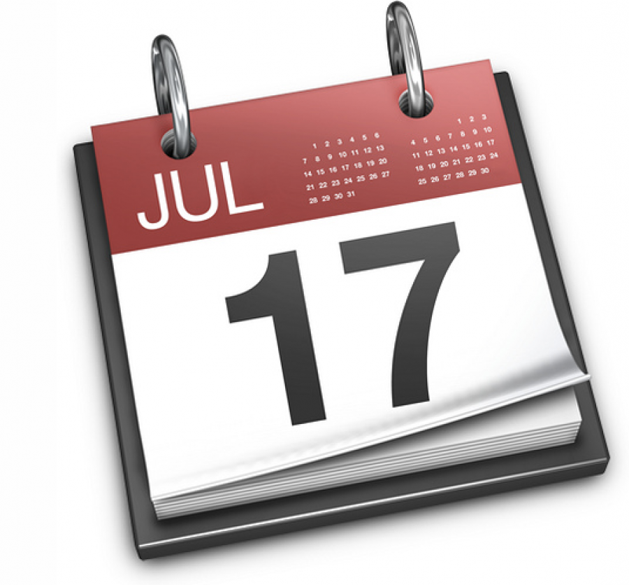 Double check to make sure your airline ticket is for the right date!.