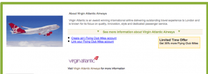 Amex Virgin Atlantic