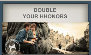 Earn double points or miles with Hilton's first quarter promotion.