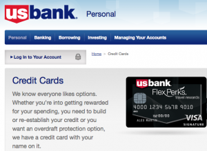 US Bank has really upped its travel rewards credit card products lately including the FlexPerks Visa Signature.