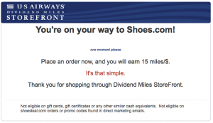 Purchasing through airline shopping portals are a great way to rack up tons of bonus miles.