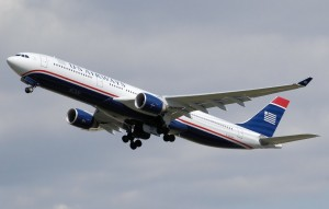 US Airways is offering a 100% bonus when sharing miles.