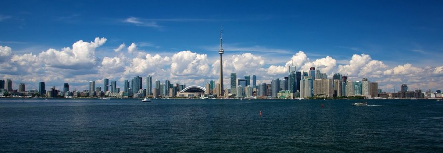 Toronto's iconic skyline. Photo by mcdux.