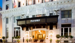Exterior of theRoosevelt New Orleans, a Waldorf Astoria Hotel.
