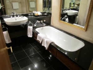Hyatt Joburg Bathroom 1