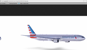Jazzy new AA livery