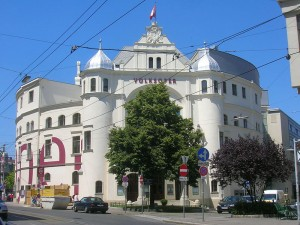 The Volksoper, a major opera house in Vienna.