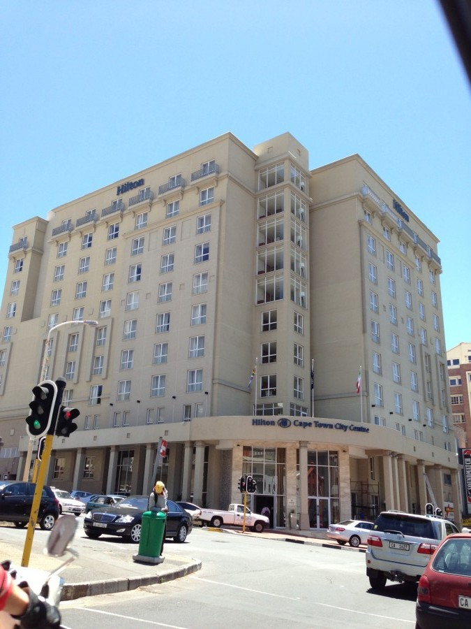 The Hilton Cape Town was a bargain at $114 a night.