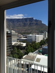 View from guest room.