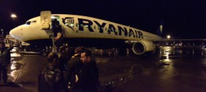Luxurious tarmac boarding in the pleasant winter Scotland weather