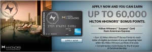 Max out your Hilton credit card category spending bonuses in the next month.