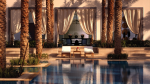 Unwind at the pool at the Park Hyatt Dubai.