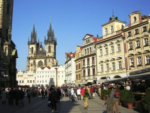 Prague's Old Town Square.
