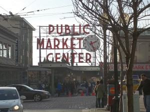 Pike Place Market.