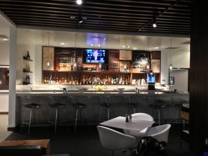 Our winner's vision sounds a little like the style-conscious Amex Centurion Lounge at Las Vegas McCarran.