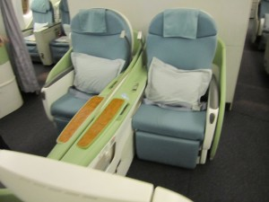 I recently transferred 80,000 Ultimate Rewards to Korean Skypass for a one-way first class Seoul-Madrid flight. Had the old first class, which wasn't amazing, but still got me there comfortably and saved me time vs connecting