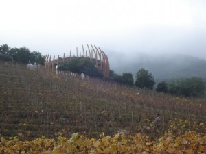 Lapostolle's dramatic showcase winery.