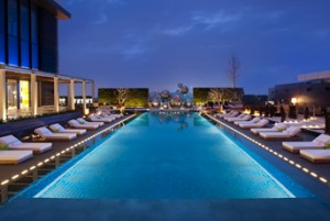 Take a tip in the 25 meter  WET swimming pool at the W Taipei.