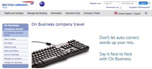 British Airways on Business