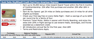 The 45k offer is still available through CreditCards.com