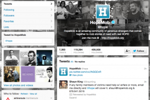 Hopemob is already helping Boston Marathon victims' families.