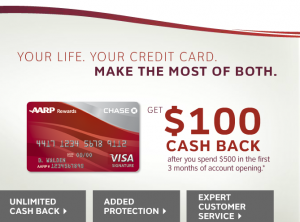 AARP CC offer