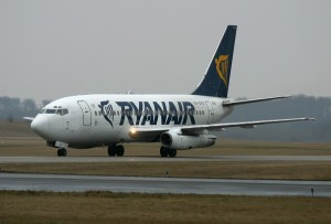 RyanAir has a large presence in Budapest.