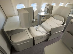 Alitalia's Business class that i will be flying from Madrid to Rome also has lie-flat seats.