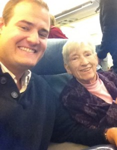 Taking my grandmother on a special trip to Santa Barbara.