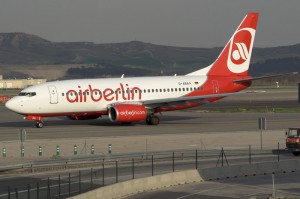 I bought my airberlin ticket.